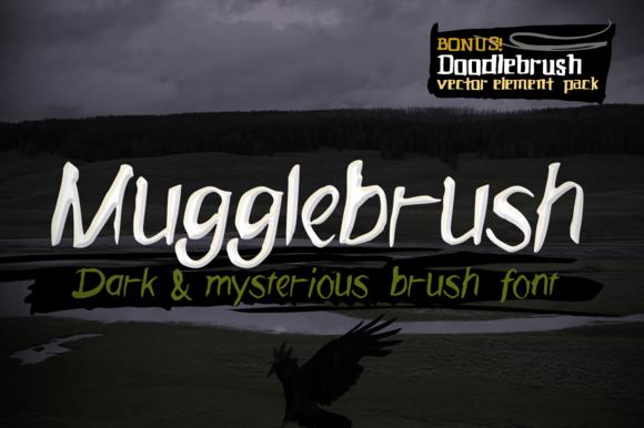 Mugglebrush Hand-brushed Font