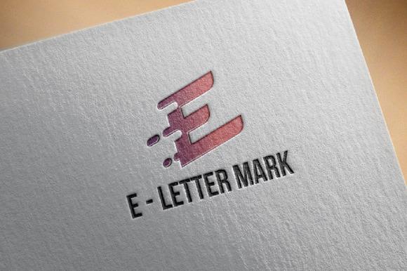 E Letter Mark Business Strategy