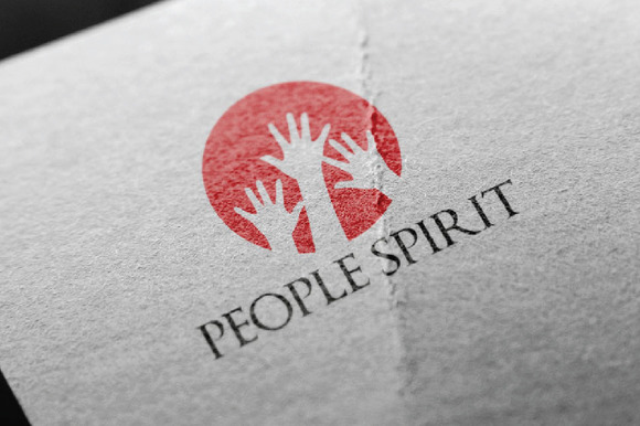 Circle People Spirit Hands Up