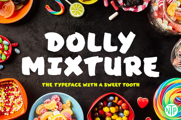 Dolly Mixture Font