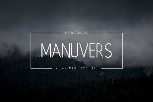 Manuvers Handmade Sans Font
