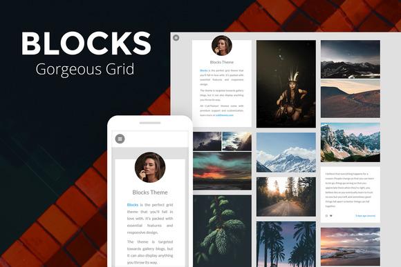 Blocks Gorgeous Grid Tumblr Theme