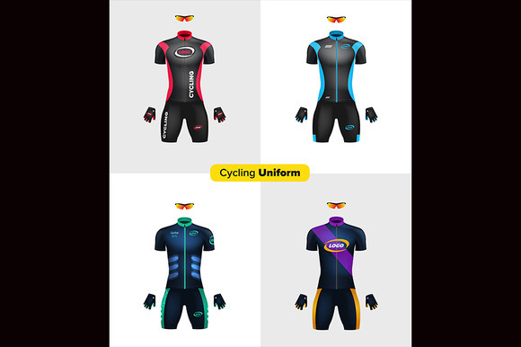 Realistic Vector Cycling Uniforms