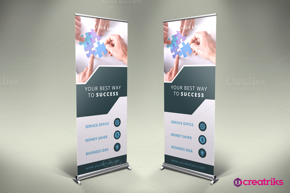 Business Roll Up Banner V040