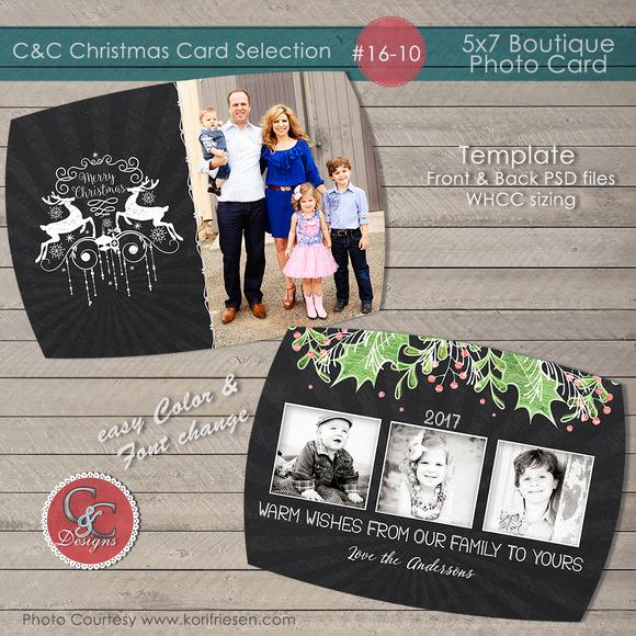 Christmas Photo Card Selection#16-10