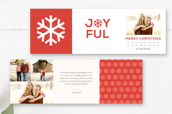 Holiday 5x5 Trifold Design