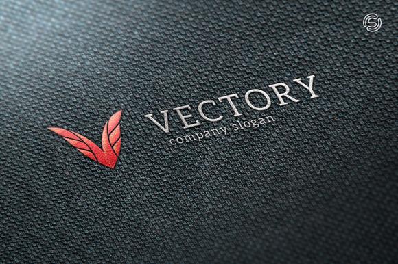 Vectory Letter V Logo Template