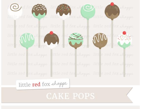 Cake Pop Clipart
