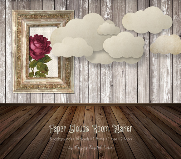 Paper Clouds Room Maker