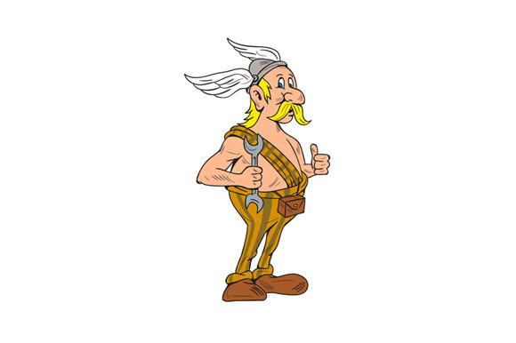 Viking Repairman Spanner Thumbs Up