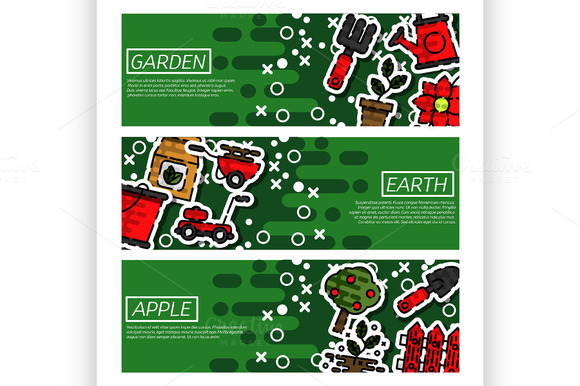 Banners About Garden
