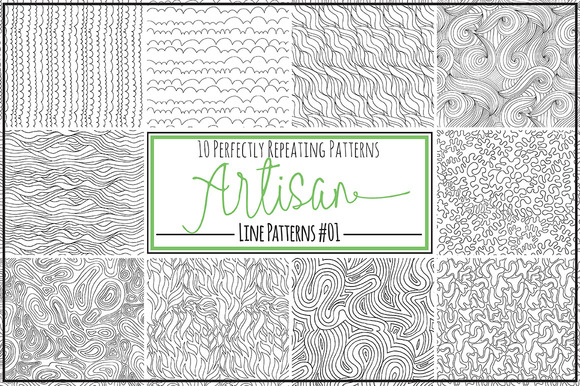 Artisan Line Repeat Patterns 01