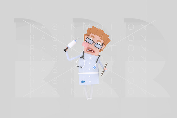 3D Illustration Doctor