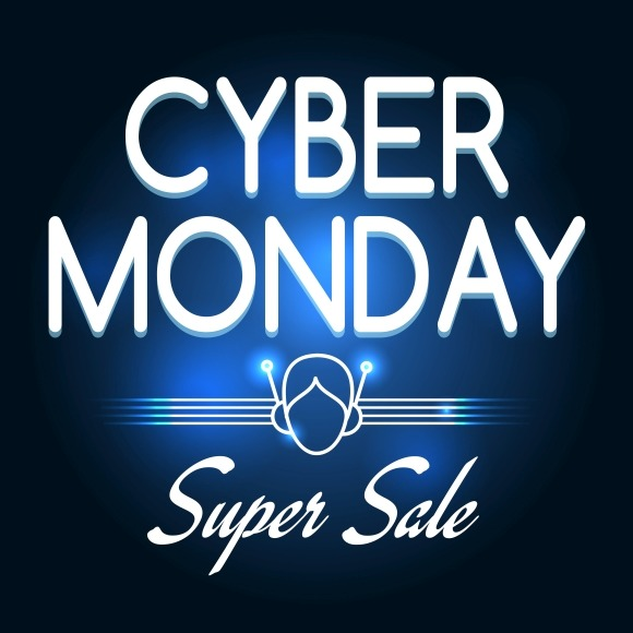 Cyber Monday Super Sale Poster