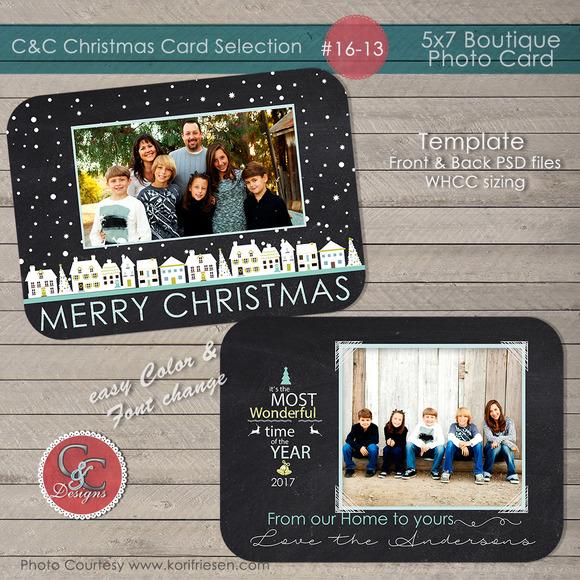 Christmas Photo Card Selection#16-13