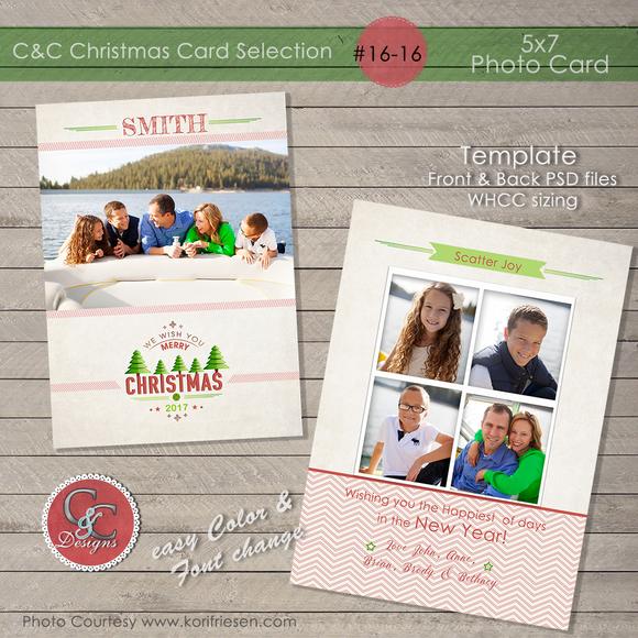 Christmas Photo Card Selection#16-16