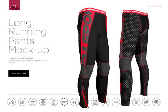 Running Long Pants Mock-up