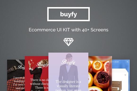 Buyfy Ecommerce UI Kit