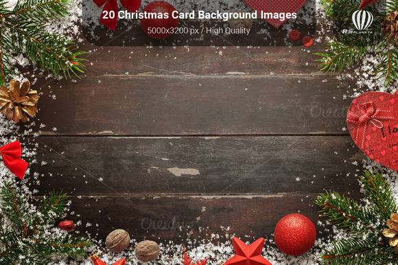 20 Christmas Card Background Images