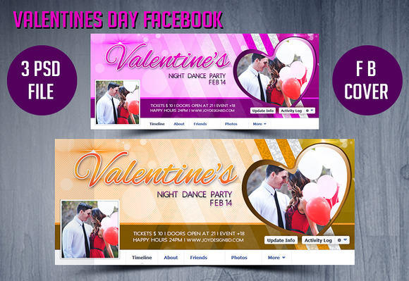 Valentines Day FB Timeline Cover