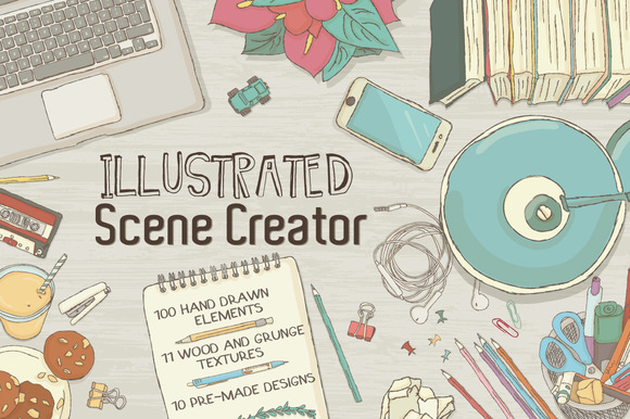 Illustrated Scene Creator