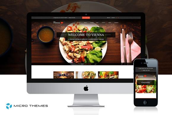 Vienna Restaurant WordPress Theme