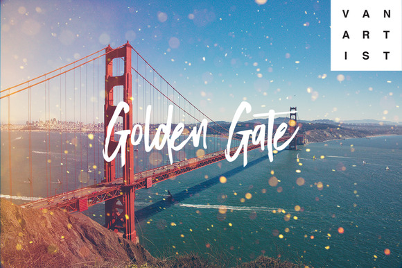 Lightroom Preset Golden Gate