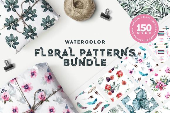 Floral Patterns Bundle 90% OFF