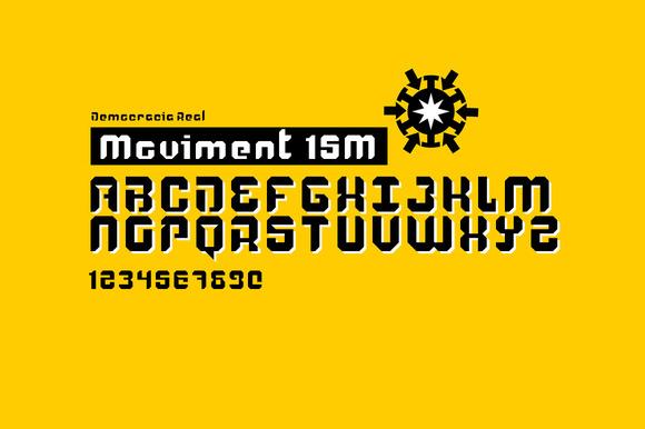 15M Type Stencil