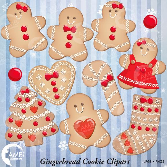 Christmas Gingerbread Cookies 1502