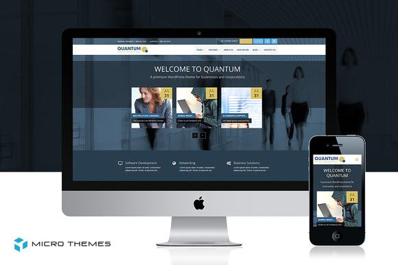Quantum Business WordPress Theme