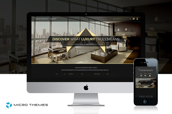 Luxor Real-Estate WordPress Theme
