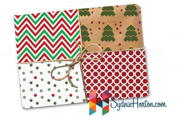 8 Christmasy Patterns
