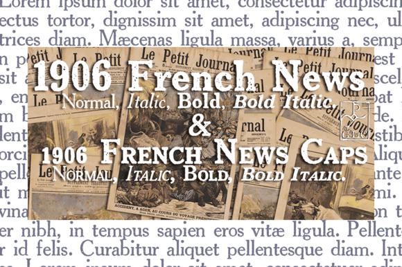 1906 French News OTF Family