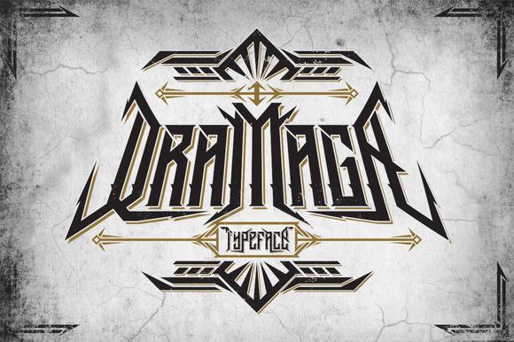 Dramaga Typeface Extras