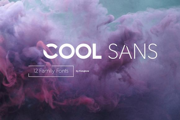 Cool Sans 12 Family Fonts