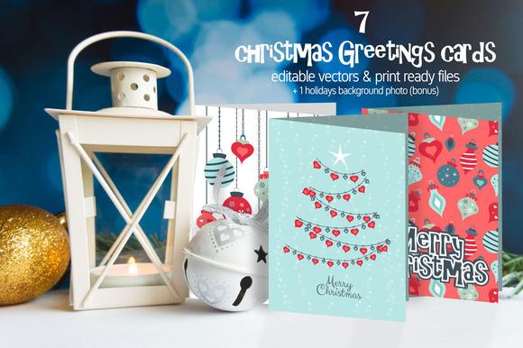 Christmas Greetings Cards Pack