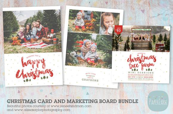 IC037 Christmas Card And Marketing