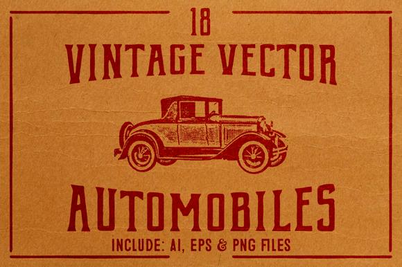 Vintage Vector Cars
