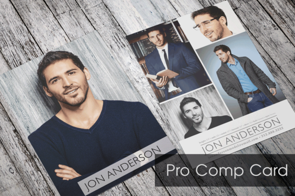 Comp card templates download designtube creative for Free comp card template