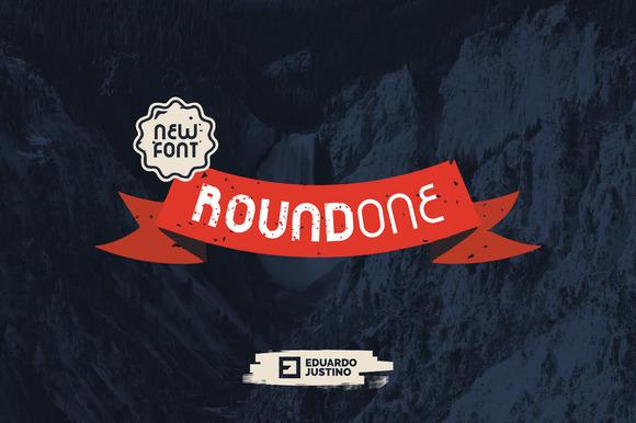 RoundOne New Font