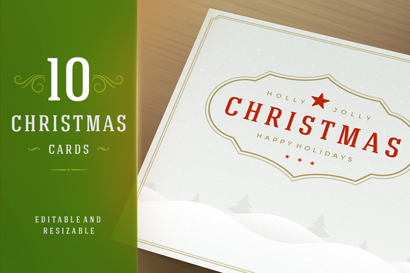10 Christmas Greeting Cards