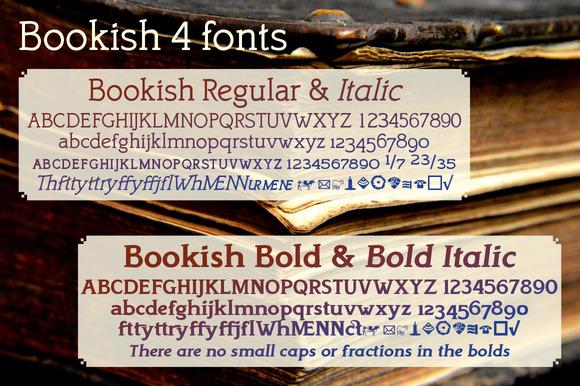 Bookish A Comfortable Slab Serif