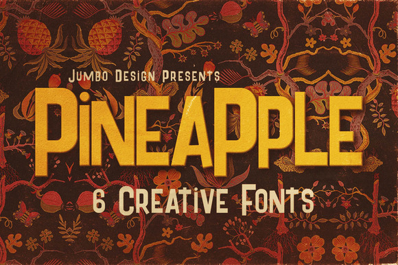 Pineapple Funny Style Font