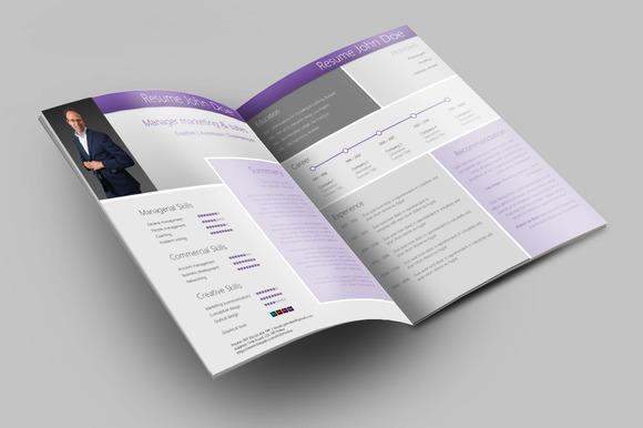 Modern Creative MS Word Resume CV