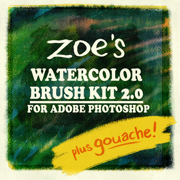 Zoe S Watercolor Brush Kit 2.0