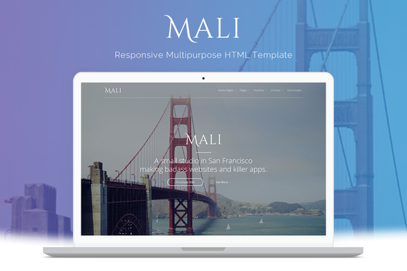 Mali Multipurpose HTML Template