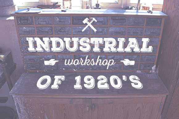 Industrial Workshop Of 1920 S