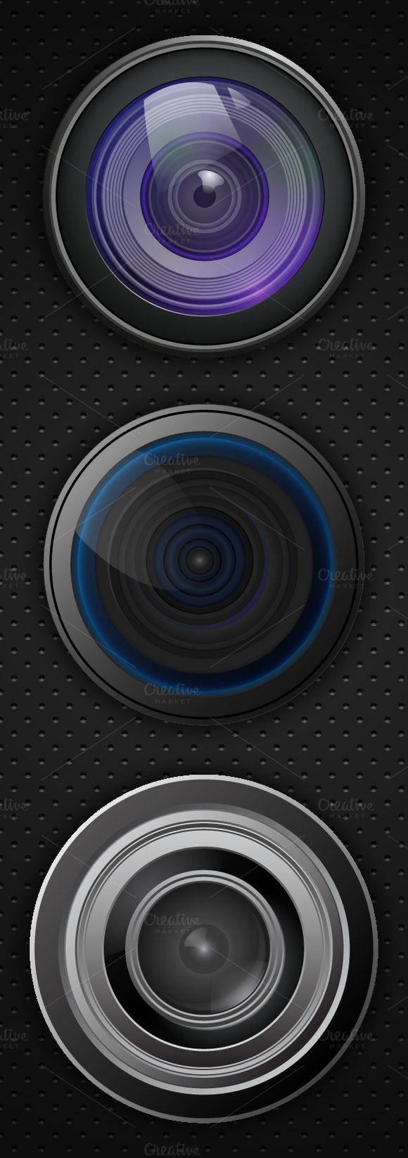 Vector Camera Lenses