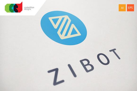 Zibot Logo Template
